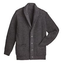 Men's Merino Shawl Collar Cardigan