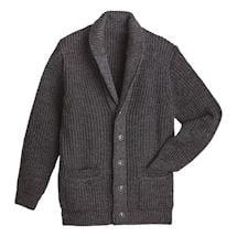 Men's Merino Shawl Collar Cardigan