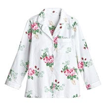 Roses Flannel Pajamas