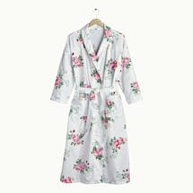 Roses Flannel Robe