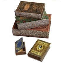 Romantic Book Boxes Set