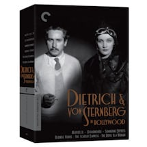Criterion Collection: Dietrich & von Sternberg in Hollywood DVD