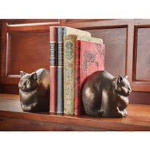 Chubby Cat Sculpture/Bookend