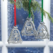 12 Days  of Christmas Ornaments Set