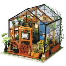 DIY Miniature Greenhouse Kit