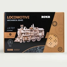 Build-Your-Own Mechanical Locomotive Kit