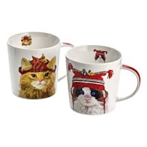 Cats in Hats Mugs
