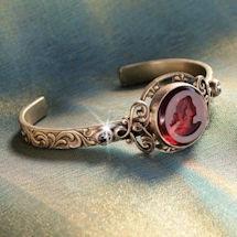 Ruby Intaglio Cuff Bracelet