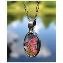 Heather Flower Necklace