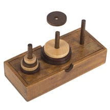 Tower of Hanoi Wood Puzzle