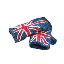 Union Jack Fingerless Gloves
