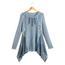 Lace Roses Tunic