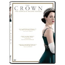 PRE-ORDER The Crown Season 2 DVD & Blu-ray