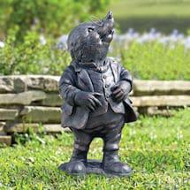 Mole Garden Statue