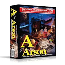 A Is for Arson Puzzle Game