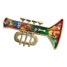 Trumpet Musical Instrument Pin