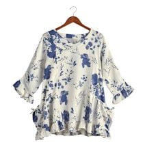 Blue Delft Tunic