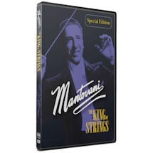 Mantovani: The King of Strings DVD/Blu-ray