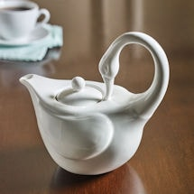Graceful Swan Teapot