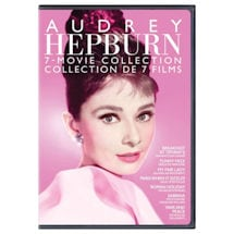 Audrey Hepburn 7 Movie Collection DVD