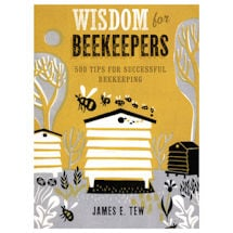 Wisdom for Beekeepers Hardcover Book
