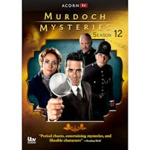 PRE-ORDER Murdoch Mysteries Season 12 DVD & Blu-ray