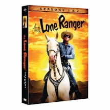 The Lone Ranger: Seasons 1&2 DVD