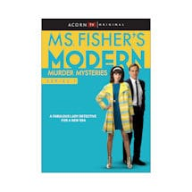 Ms. Fisher's Modern Murder Mysteries, Series 1 DVD & Blu-Ray