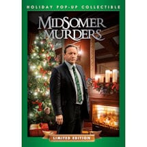 Midsomer Murders Christmas Episode DVD in Collectible Pop-Up - Limited Edition