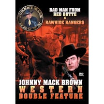 Johnny Mack Brown Western Double Feature DVD