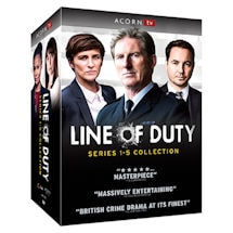 Line of Duty Seasons 1-5 Collection DVD