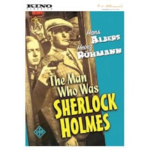 The Man Who Was Sherlock Holmes DVD & Blu-Ray